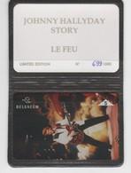 Belgique - Cartes Publicitaires - Johnny Hallyday - N° 435 - 605L - Belgique