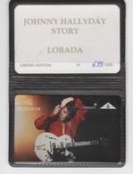 Belgique - Cartes Publicitaires - Johnny Hallyday - N° 437 - 605L - Belgique