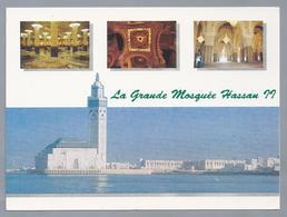MA.- LA MOSQUEE HASSAN II. Mezquita De Casablanca - Marruecos Morocco Maroc - Casablanca