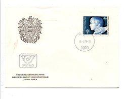 AUTRICHE FDC 1979 ANNEE INTERNATIONALE DE L'ENFANT - FDC