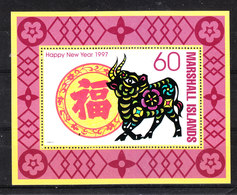 Marshall  -  1997. Toro, Simbolo Del Nuovo Anno. Taurus, Symbol Of The New Year. MNH - Astrologia