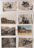 Lot 9 Photos Moto-cross -trial 1960 - Cartoline