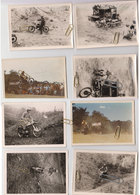 Lot 9 Photos Moto-cross -trial 1960 - Cartes Postales