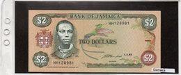 Banconota Giamaica 2 Dollars - Jamaica