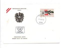 AUTRICHE FDC 1979 CENTENAIRE COMPAGNIE DE TIR - FDC