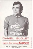 Daniel BLOUET. Champ. De Bretagne De Cyclo-cross 1973- Agent Des Cycles Lejeune à ST-Brieuc 22 - Cycling