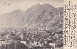 AK Trento Trient - Panorama - 1904  (38193) - Trento