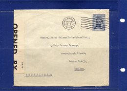 ##(ROYBOX1)-Postal History-Argentina 1940 -Cover  From Buenos Aires  To London-England-Censored,Opened By Examiner Label - Argentina