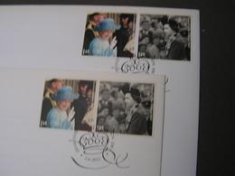 GB 2 FDC  2012  Diamond Jubilee - 1952-.... (Elisabeth II.)