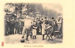 Paris Petits Métiers - Editions Kunzli, Légende Rouge - Hercule Sur La Place Publique - Cecodi N'A 204 - France