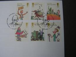 GB FDC  2012 Roald Dahl - 1952-.... (Elisabeth II.)