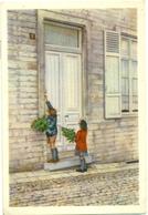 Belgische Folklore Uitgegeven Door Côte D'Or : Hoegaarden - Palmzondag - Vieux Papiers