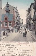 Blankenberge Hotel De Ville Et Rue De L Eglise - Blankenberge