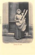 Paris Petits Métiers - Editions Kunzli, Légende Rouge - Porteuse De Pain - Cecodi N'A 227 - France