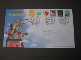 GB FDC  2006 Smilers 2451-2456 - 2001-2010 Dezimalausgaben