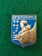 AVIAZIONE Stemma Da Giacca 31° Stormo - Aviazione