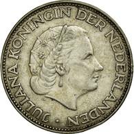 Monnaie, Pays-Bas, Juliana, 2-1/2 Gulden, 1962, TTB, Argent, KM:185 - [ 3] 1815-… : Reino De Países Bajos