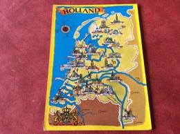Nederland. Pays-Bas. Holland. - Landkaarten
