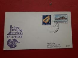 La Nouvelle-Zélande Enveloppe Antartida 1986 - Nueva Zelanda