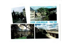 Cpm - 57 - Forbach - Lycée Jean MOULIN - 1958-1988 - Centre De Langues - école - - Forbach