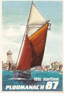 Fête Maritime De PLOUMANAC'H En 1987 ( Reproduction De L'affiche) - Ploumanac'h