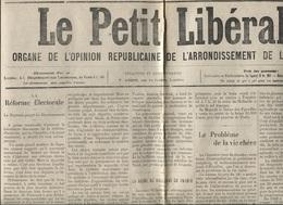 """LOUDEAC - JOURNAL """"LE PETIT LIBERAL"""" - Articles Locaux - Publicités Commerciales - 6 Juin 1912 - Newspapers"""
