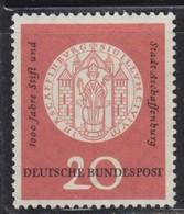 West Germany 1957 1000 Years Of Aschaffenburg, MNH (**) Michel 255 - BRD