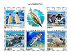 GUINEA BISSAU 2018 - Penguins, Antarctica. Official Issue - Pinguïns & Vetganzen