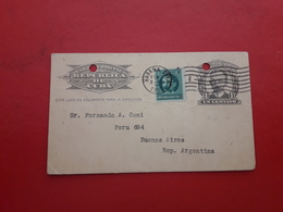 La Cuba Un Entier Marti Postal Circulé Avec Timbre Marti 1922 - Cuba
