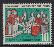West Germany 1957 Freiburg University, MNH (**) Michel 256 - [7] República Federal