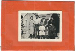 Lozere : La Brousse, ( Famille Plagnes?), Photo D'Epoque - France