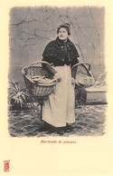 Paris Petits Métiers - Editions Kunzli, Légende Rouge - Marchande De Poissons - Cecodi N'A 219 - France