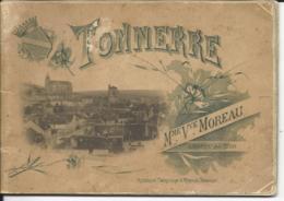 LIVRET De 12 VUES De La VILLE De TONNERRE - LIBRAIRE EDITEUR : Mme Vve MOREAU - Tonnerre
