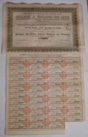 ACTION - Cie CHEMIN DE FER D'INTERET LOCAL De TOULOUSE A BOULOGNE SUR GESSE - 30 Avril 1897 - Chemin De Fer & Tramway