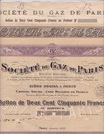 Th4 GAZ : PARIS 1922   (08 B) - Autres