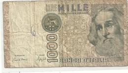 """BANCA D'ITALIA . 1.000 LIRE . TYPE """" MARCO POLO """" . DECRETO MINISTERIALE 6.1.1982    . 2 SCANES - [ 2] 1946-… : République"""