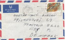 Australia Air Mail Cover Sent To Denmark Parramatta 2-4-1974 Single Franked - Airmail