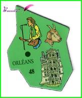 Magnet Le Gaulois Les Ville Du Monde N° 48 Orléans France - Magnets