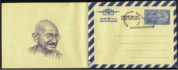 India/Inde: Intero, Stationery, Entier. Mahatma Gandhi, Aereo Di Linea, Airliner, Avion De Ligne - Mahatma Gandhi