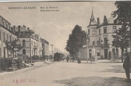 Mondorf-les-Bains , Rue De Remich , Remicher Strasse , N°262 ,( Tram Vicinal à Vapeur ) - Bad Mondorf