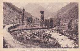 Environs De Vicdessos La Route Du Pont De Marc Et Le Montcalm - France
