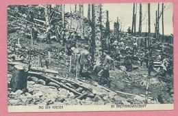 68 - HARTMANSWEILERKOPF - VIEIL ARMAND - Carte Allemande - Soldats Allemands - Guerre 14/18 - France
