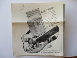 1937 - Aviation Etape - Vol Istres Damas Paris-  Avion Fiat BR.20  Cicogna - Coupure De Presse Originale  (Encart Photo) - Documenti Storici