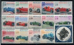 RC 10723 MONACO N° 708 / 721 + PA 91 AUTOMOBILES GRAND PRIX DE MONACO 1967 NEUF ** TB - Monaco