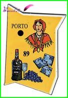 Magnet Le Gaulois Les Ville Du Monde N° 89 PORTO Portugal - Magnets