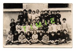 64 - BIARRITZ - PHOTO DE CLASSE EN 1933 ECOLE DE LA NEGRESSE - Schulen