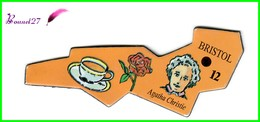 Magnet Le Gaulois Les Ville Du Monde N° 12 BRISTOL Angleterre Agatha Christie - Magnets