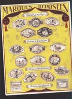 Alençon - Tricotage - Publicité Avec Marques Des Laines Chandavoine Avec Lettre Autographe - Advertising
