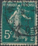 FRANCE - Perfin 'EP ' - France
