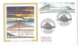 FDC Pont De Normandie (76 Le Havre 20/01/1995) - FDC